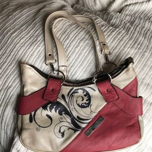 One of a kind all leather bag-made in Canada